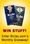 Enter to win free bil-jac merchandise!
